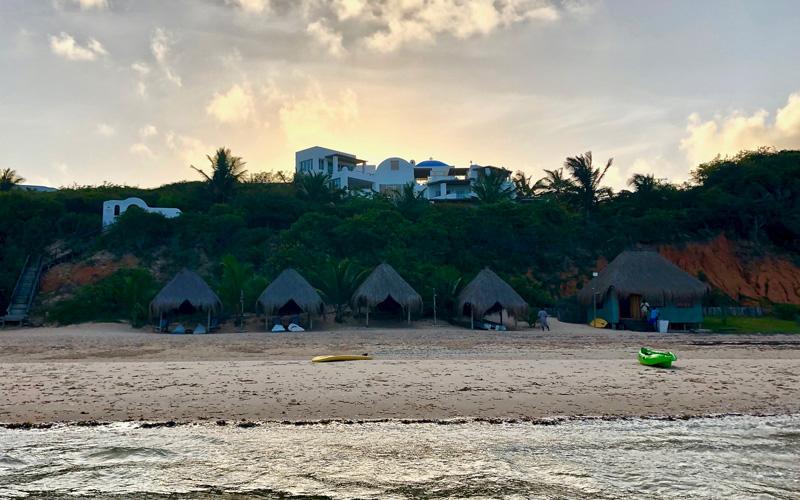 mozambique santorini beach